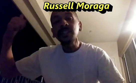 ***** Russell Moraga Threat On OffDuty Cops *****